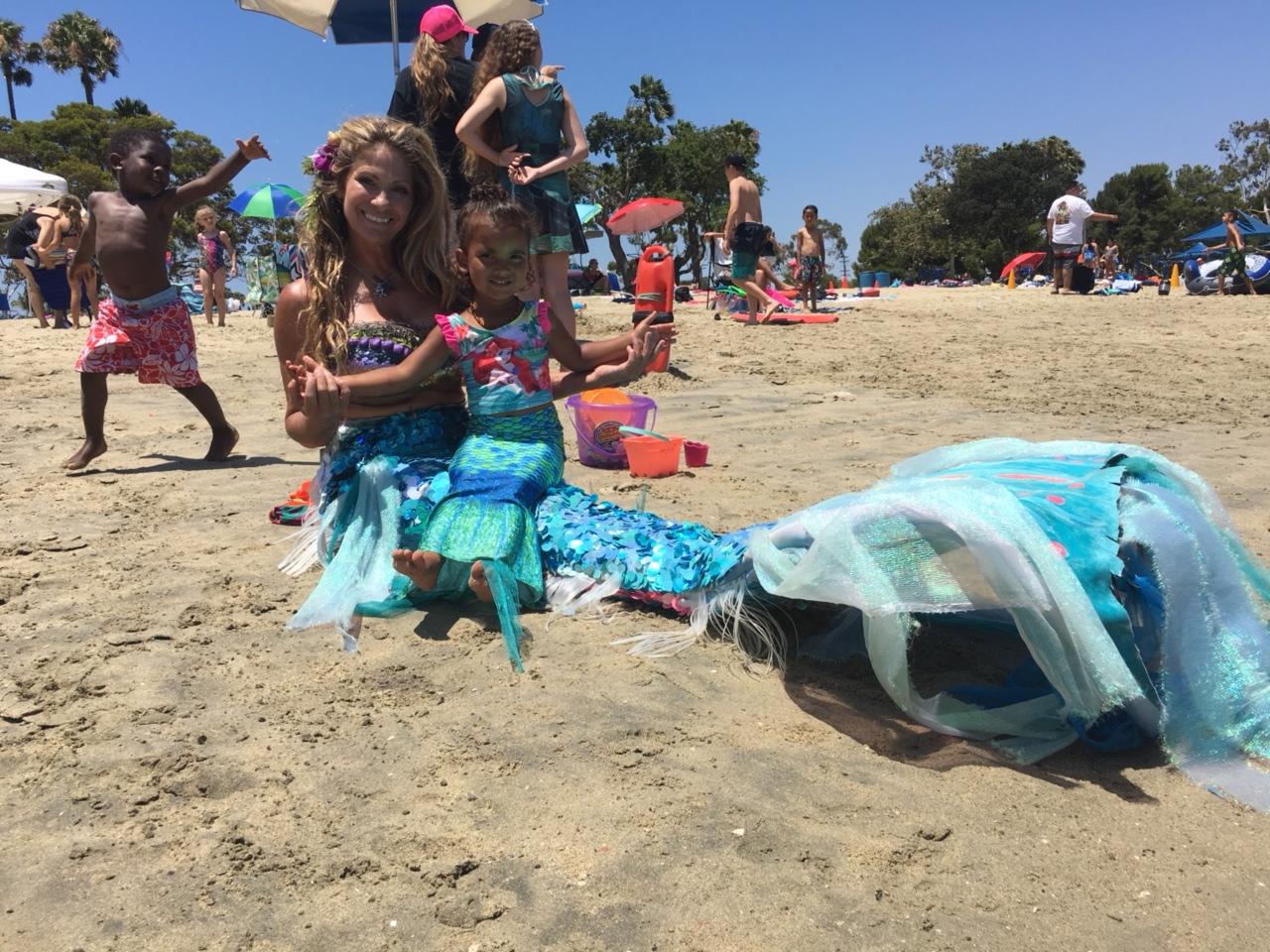 Mermaid Flower and Mini Camper
