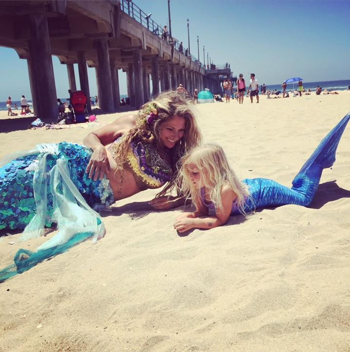 Today was Mermaid Magical 🐬🌴💗 Making Mermaid Dreams come true with HB Mermaids and Friends🐬🌴🌺O