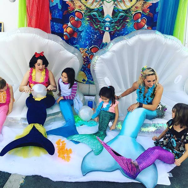 Book a Princess and Mermaid Visit to you