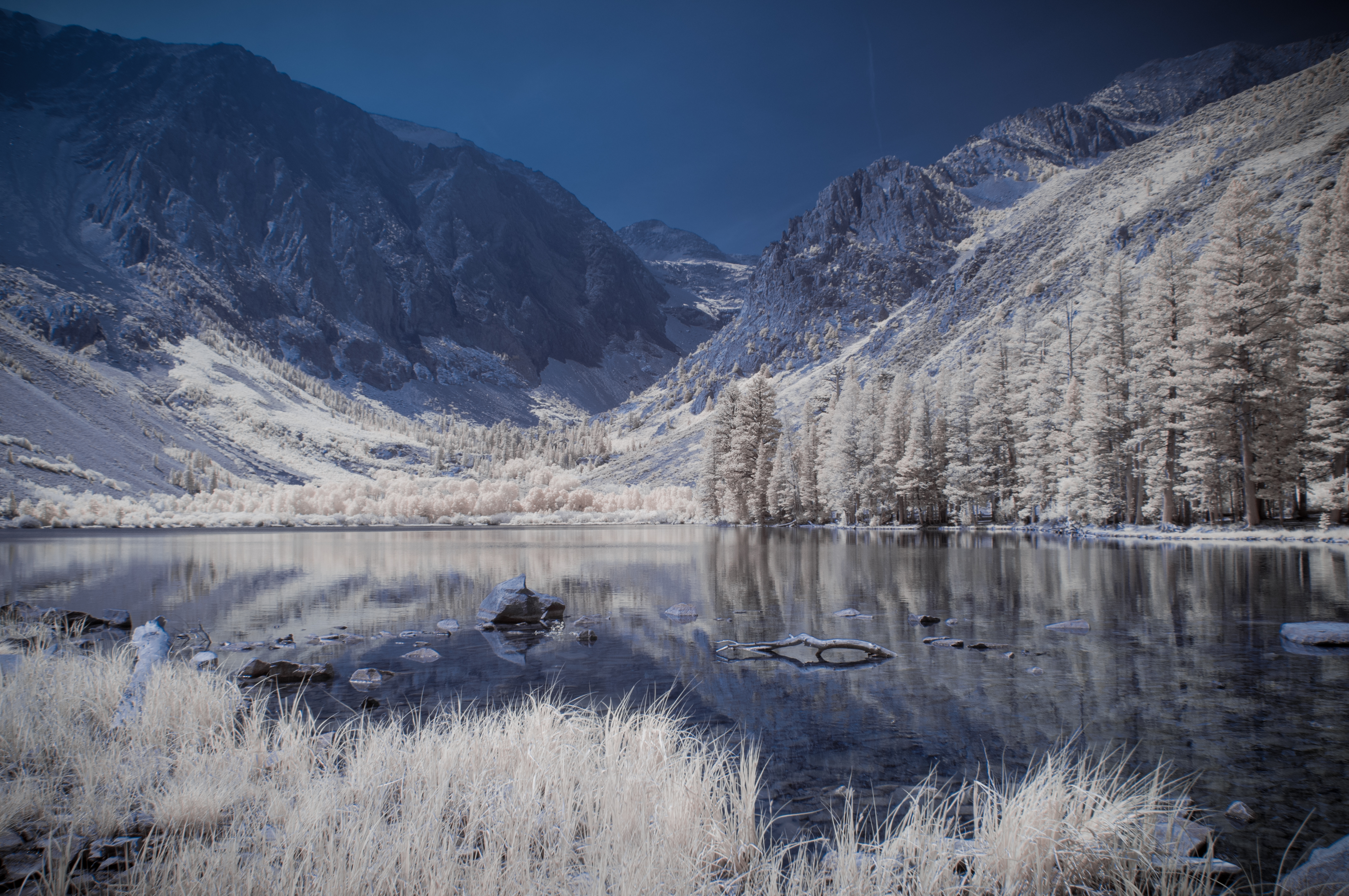 Parker Lake in Infrared