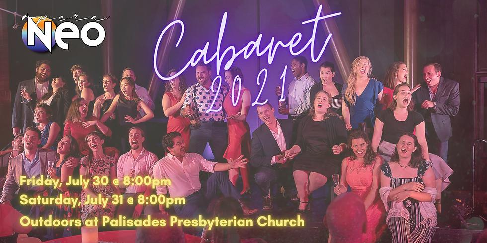 Cabaret – Friday, July 30