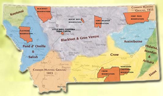 Montana Tribes