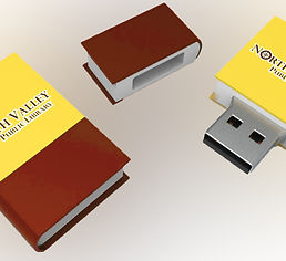 NVPL Novelty Book USB