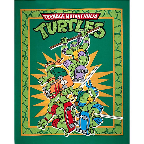 Mutant Ninja Turtles Minky Blanket