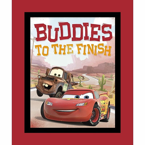 Buddies Cars Minky Blanket