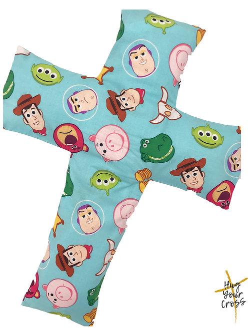 My Little Toy Stories Cross Pillow