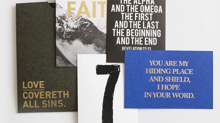 Post Cards- Faith