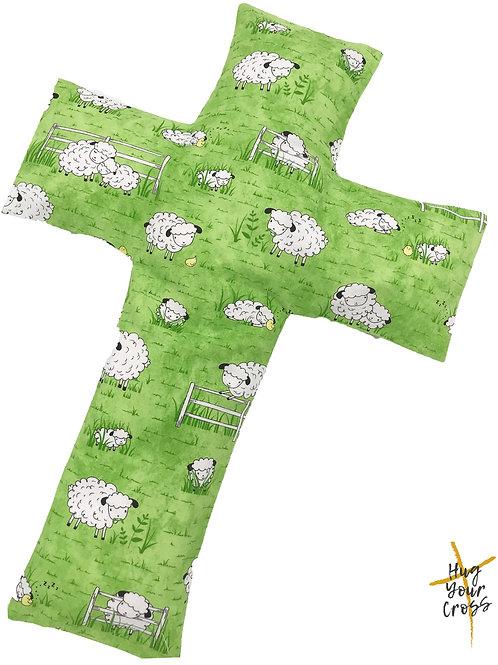 My Little Sheep's life Cross Pillow