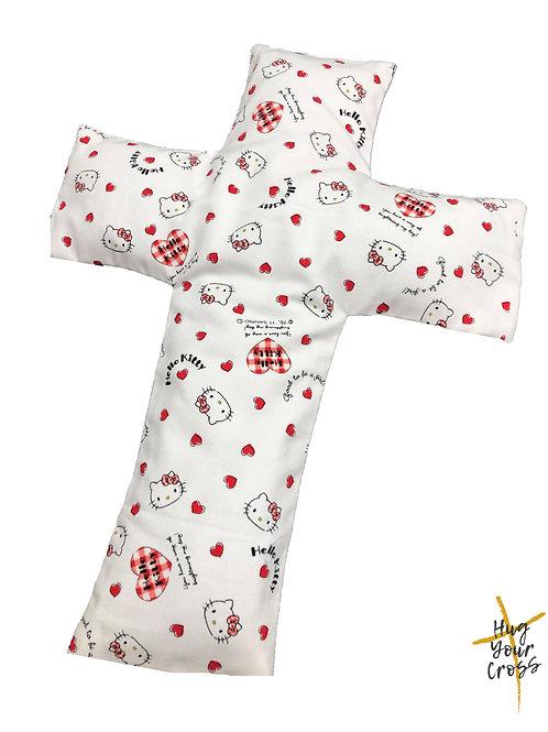 My Little Hearty Hello Kitty Cross Pillow