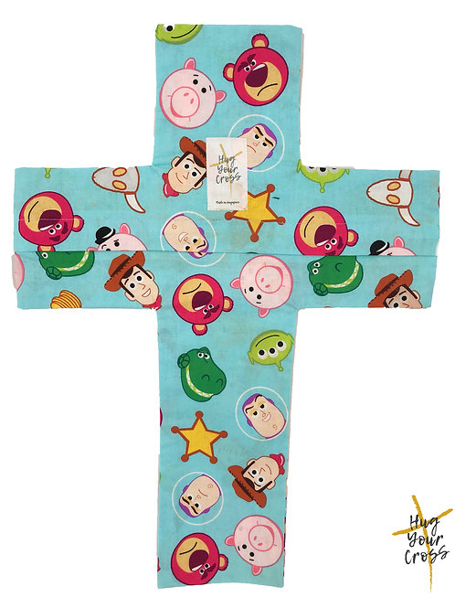 My Little Toy Stories Cross Pillow Cover