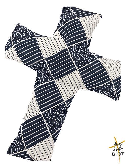The Great Wave off Kanagawa Cross Pillow
