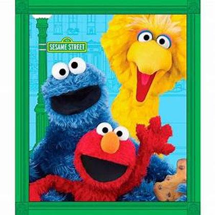 Elmo and Friends Minky Blanket