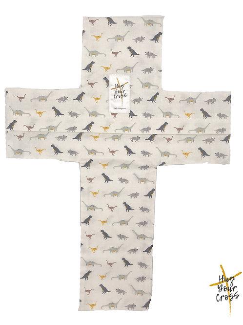 My Little Dino Garden Cross Pillow Cover