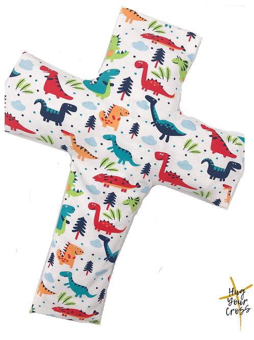 My Little Dinosaurs Cross Pillow