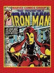 Iron Man Minky Blanket