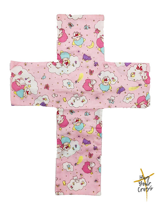 My little Melody Cross Pillow Cover
