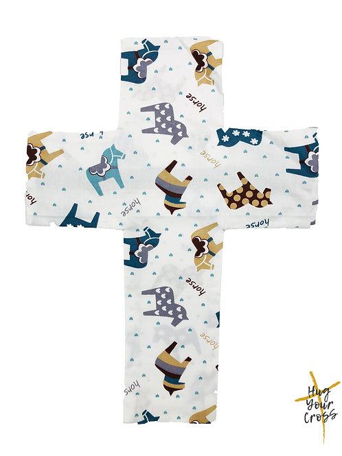 My Little Horse Cross Pillow Cover