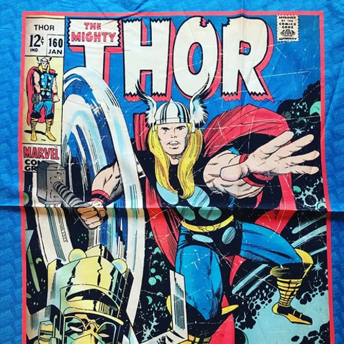 The Mighty Thor Minky Blanket
