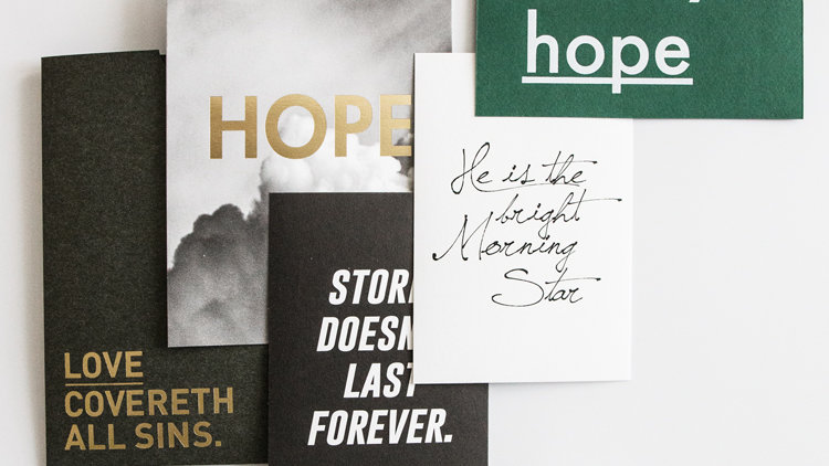 Post Cards- Hope