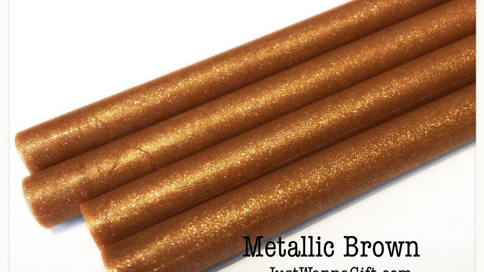 Wax Stick- Metallic Brown