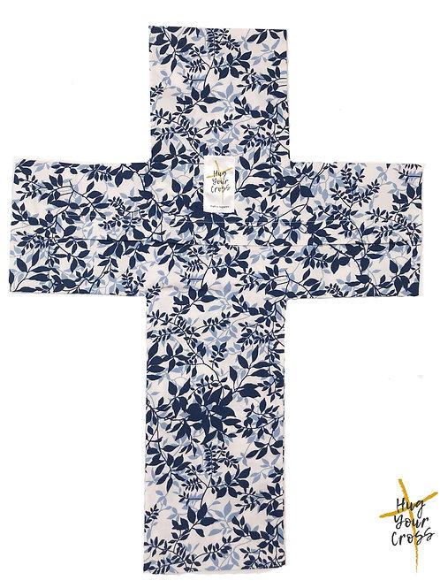 Japanese Blue Maple Cross Pillow Cover