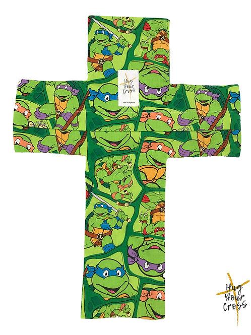 My Little Ninja Turtle Pillow Cover