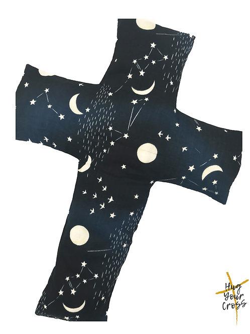 My Little Astronomy Cross Pillow
