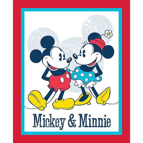 Mickey & Minnie  Minky Blanket