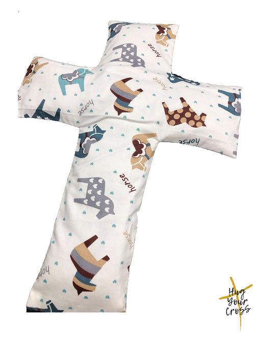My Little Zebra Cross Pillow