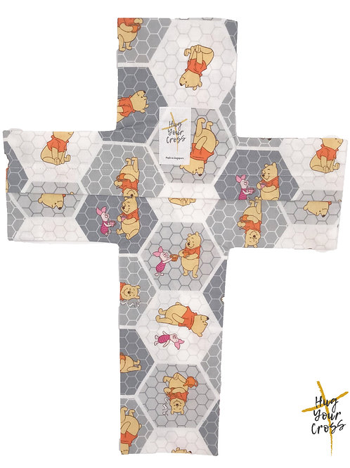 My Little Winnie the Poon & Piglet Cross Pillow Cover