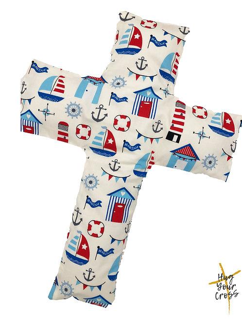 My Little Sailor Cross Pillow