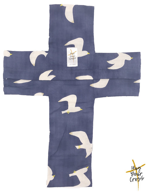 My Freedom Cross Pillow Cover