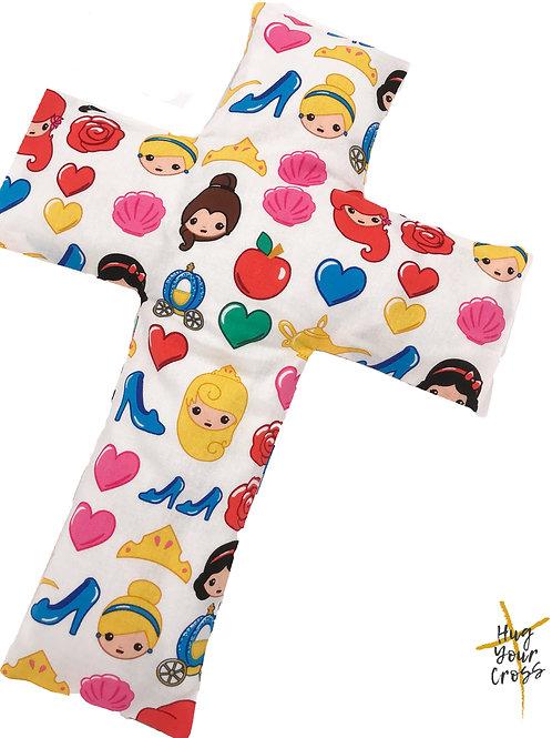 My Little Disney Princess Cross Pillow