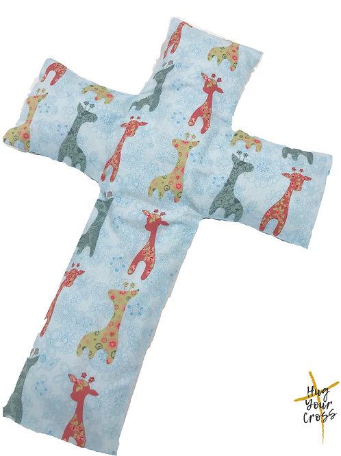 My Colourful Giraffe Cross Pillow