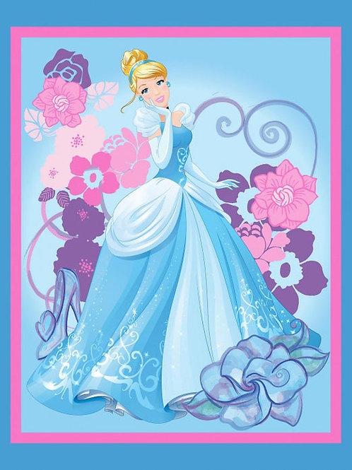 Cinderella  Minky Blanket