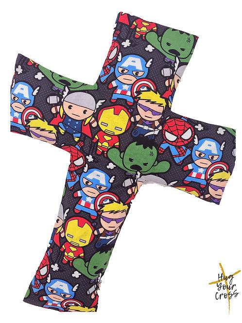 My Little Avenger 2 Cross Pillow