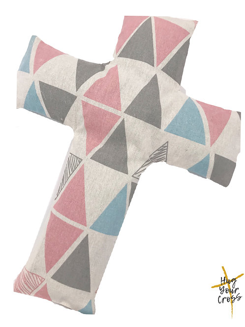 The Virts Cross Pillow