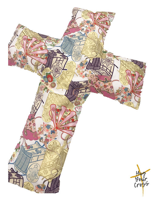 Japan Culture Carriage Cross Pillow