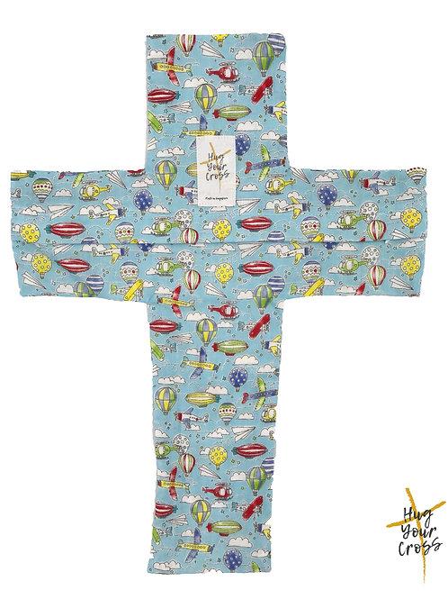 My Little Airport Cross Pillow Cover