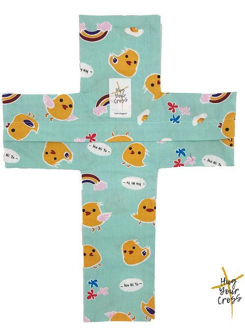 My Little HoHiYo Chicks Cross Pillow Cover