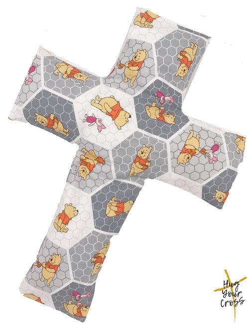 My Little Winnie the Poon & Piglet Cross Pillow