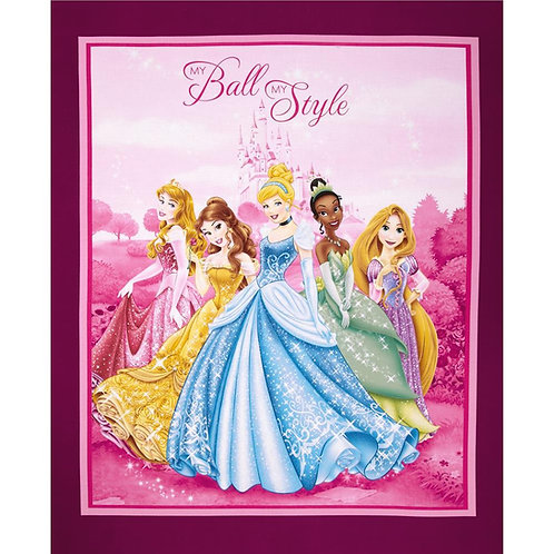 Disney Princesses Minky Blanket