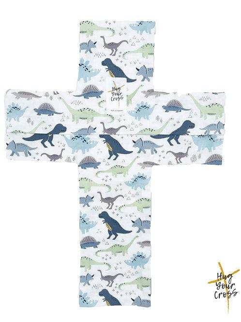 My Little Jurassic World Cross Pillow Cover