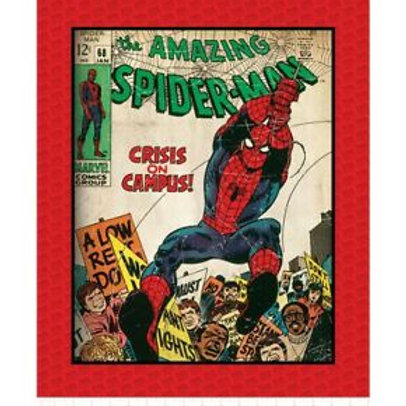 Amazing Spiderman Minky Blanket