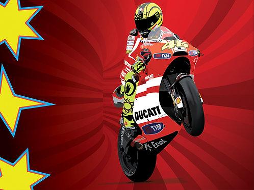 Rossi at Ducati