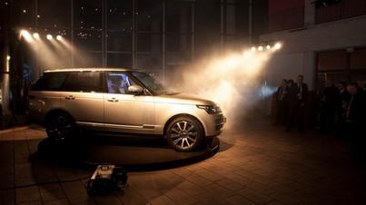 Summit avto - predstavitev novega avtomobila Range Rover