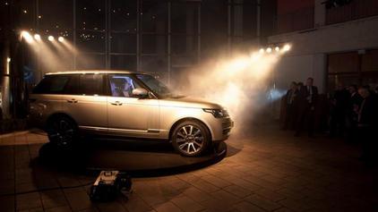 Summit avto - predstavitev novi Range Ro