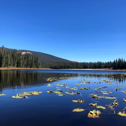 Mountain lake. PC BRP.