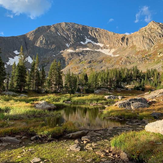 Hiking in the Rocky's. PC Sheelah Brennan on Unsplash