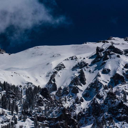 Snowy Ridge. PC Nathan Anderson on Unsplash